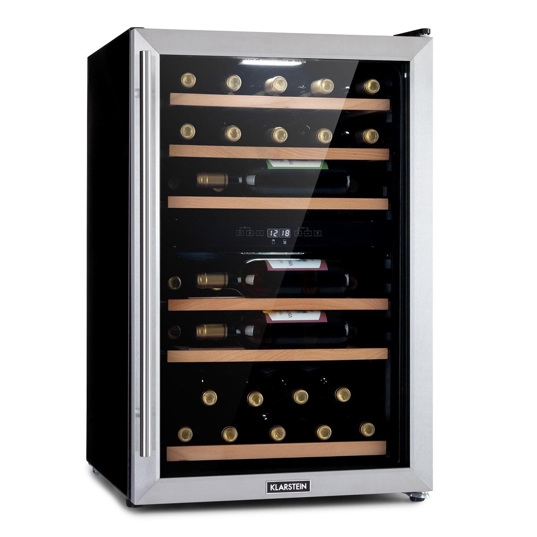 Vinamour 37 Duo, hladnjak za vino, 2 rashladne zone, 112 litara, 37 boca