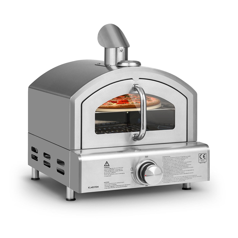 Pizzaiolo Neo, plynová pec na pizzu, vrátane kameňa na pizzu, termometer, nerezová oceľ