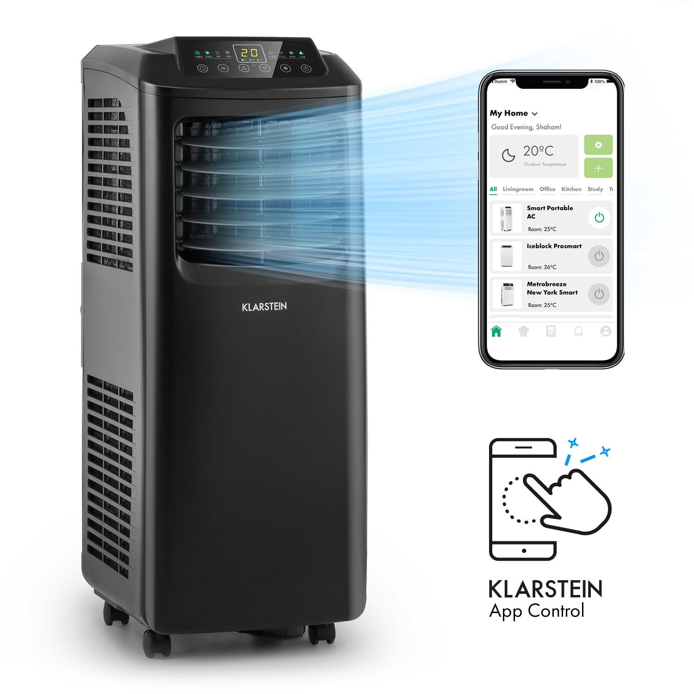 Pure Blizzard Smart 7k, mobil légkondicionáló, 7000 BTU / 2,1 kW, A energiahatékonysági osztály, távirányító