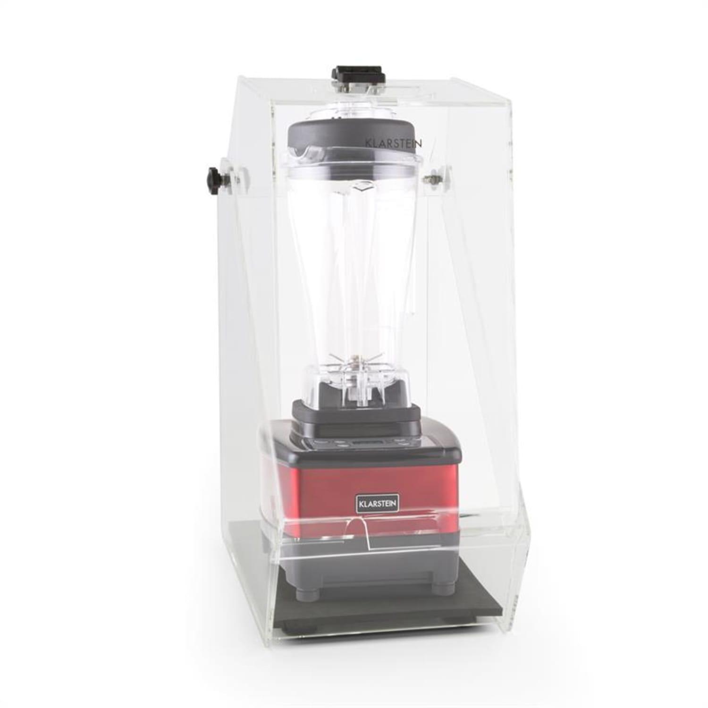 Klarstein Herakles 4G, piros, asztali turmixgép, fedővel, 1500 W, 2,0 k, 2 liter, BPA-mentes