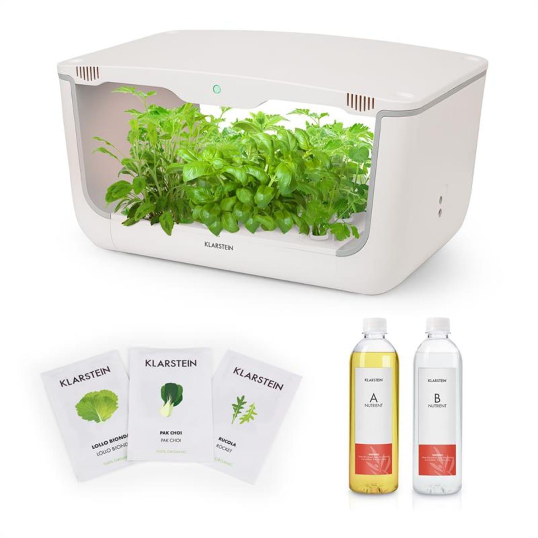 GrowIt Farm Kit de démarrage culture indoor Salades 28 plantes 48W 8L
