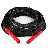 Monster Rope Tau 12m Schwarz Nylon dreischlägig
