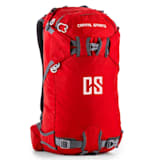 Capital Sports CS 30 Red Ryggsäck Sport Fritid 30 l vattenfast nylon röd