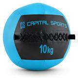 Capital Sports Wallba 10 Wall Ball 10 kg Kunstleer donkerblauw
