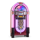 auna Graceland XXL BT Jukebox Bluetooth USB SD AUX CD OUC/Onde Medie