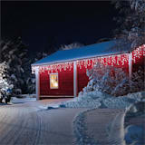 Dreamhouse Snow String Icicle Christmas Lights 24m 480 LED Cold White Snow Motion