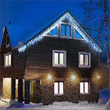 Blumfeldt Dreamhouse Flash Guirlande lumineuse de Noël 8m 160x LED Effet flash - blanc glacé