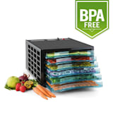 Fruit Jerky Pro 6 Automatic Food Dehydrator 630W 6 Levels BPA-Free