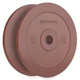 Methoder Technikscheibe Gewichtsplatten Gummi Paar 2,5 kg rot