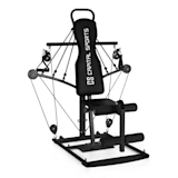 CAPITAL SPORTS Tubey Mini Homegym Cavi Elastici Nera