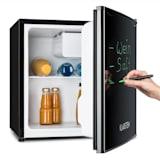 Réfrigérateur 40L A+ 2 étagères bac à glace congélateur marqueur - noir