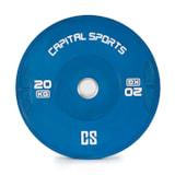 Nipton Bumper Plate Gewichtsplatte | 1 x 20 kg | Hartgummi