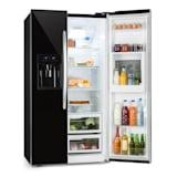 Grand Host XXL chladnička, 550 litrů, dávkovač ledu a vody, A +, černá barva