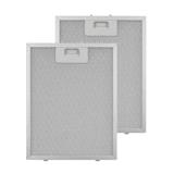 Klarstein aluminium vetfilter 24,4 x 31,3 cm vervangend filter 2 stuks