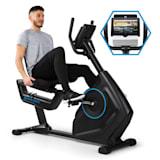 CAPITAL SPORTS Evo Deluxe Vélo cardio training Bluetooth volant d'inertie 20 kg