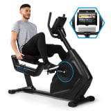 CAPITAL SPORTS Evo Deluxe cardiobike Bluetooth app 20kg massa volanica
