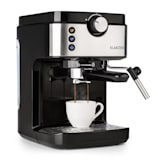 Klarstein BellaVita Espresso Machine 20 Bar 1575W 900ml Silver