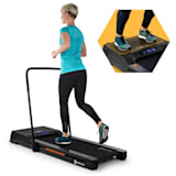 Capital Sports Workspace Fusion Tapis de course  1-12km/h & plaque vibrante Bluetooth -