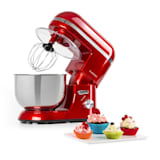 Klarstein Bella Elegance Food Processor 1300W 1.7 HP 6 Steps 5 Litres Red