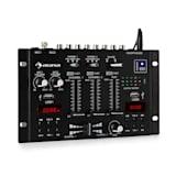 auna DJ-22BT MKII mixer consolle DJ 3/2 canali BT 2xUSB montaggio su rack nero