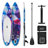 Maliko Runner SUP-Board - Aufblasbares Paddleboard Set 305x10x77 blau/rot | Capital Sports