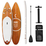 Capital Sports Downwind Cruiser M opblaasbare paddleboardset 330x10x77 oranje