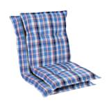 Prato Polsterauflage Sesselauflage Gartenstuhl-Auflage Niedriglehner | Polyester | 50 x 100 x 8 cm | OEKO-TEX® Standard 100 | UV-beständig |  Halteband & Kordeln