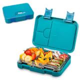 schmatzfatz junior lunchbox 6 vakken 21,3 x 15 x 4,5 cm (BxHxD)