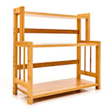 Spice rack 3 shelves 18 x 41 x 41.5 cm sustainable bamboo
