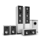 Reference 851 5.1 Sound System White
