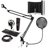 auna MIC-920B USB kit micro V5 à condensateur perche filtres anti bruit anti pop