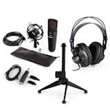 MIC-920B USB Mikrofon-Set V2 Kopfhörer Kondensatormikro Stativ POP-Schutz