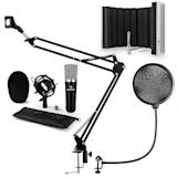 auna CM003 microphone-kit V5 microphone à condensateur XLR perchette noir