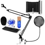 CM001BG Mikrofon-Set V5 Kondensatormikrofon Mikroarm POP-Schutz Mikroschirm