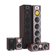 Auna V9B , surround hangfalak , 5 dobozos szett , 440 W RMS
