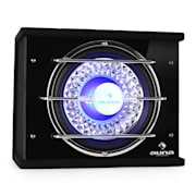 "10"" In-Car Hifi Subwoofer Bassbox 600 Watts with LED lights 25 cm (10"")"