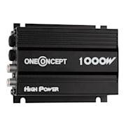 Compact 4-channel 4 X 30 W RMS In Car Hifi Amplifier - Black Black