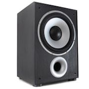 SW100BL, активен бас субуфер,100 W, черен