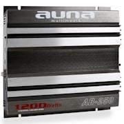 AB-250 2-Channel Car Amplifier -1200W Bridgeable 2