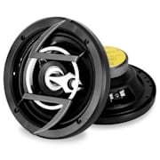 "Pair of Auna 6.5"" (16.5 cm) 600W Car Speakers Black Boxes 16.5 cm (6.5"")"