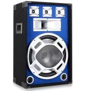 "Modri LED 15"" pasivni DJ PA zvočnik – 800 W"
