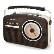 MPR-104 Vintage Portable Radio with Carry Handle