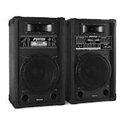 """Aktivní set reproduktorů SPA1000 25cm 800W USB, SD, MP3 25 cm (10"""")"""