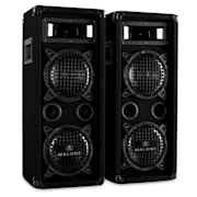 "PW-65X22 3-way Speakers 2 x 16 cm (6.5"") 2 x 300 W RMS (2 x 600 W max.) 2x 16.5 cm (6.5"")"
