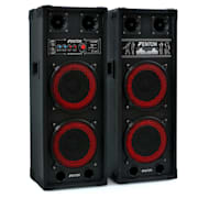 "SPB-28 PA Active Passive Dual 8"" PA Speakers 800W"