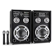 SPD-10V Aktiv-Passiv-Aktivboxen-Set + VHF-Mic 800W