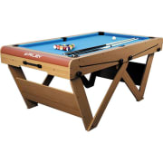 FSPW-6 Mesa de billar snooker plegable 183 x 79 x 97cm