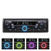 Autorádio Auna MD-140-BT, MP3, USB, SD, RDS, AUX, bluetooth MD-140-BT