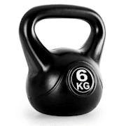 Kettlebell, kulové závaží, činka Kettlebell, 6 kg 6 kg