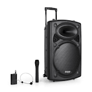 "Port15VHF-BT sound system 38 cm (15"") USB SD bluetooth nero 